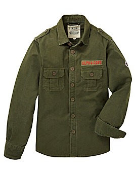Jacamo Prescott Military Shirt Long