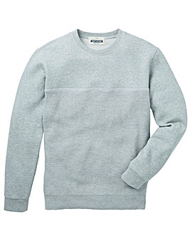 Jacamo Priestly Knitted Crew Sweat
