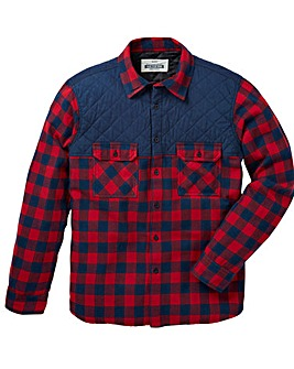Jacamo Barstow Check Shirt Long