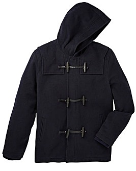 Jacamo Bristol Hooded Duffle Coat