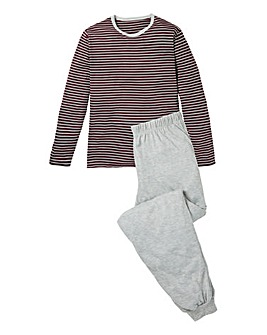 Southbay Striped Long Sleeve Pyjamas