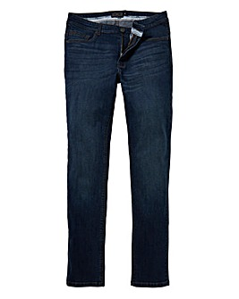 Label J Indigo Skinny Jeans 29in Leg