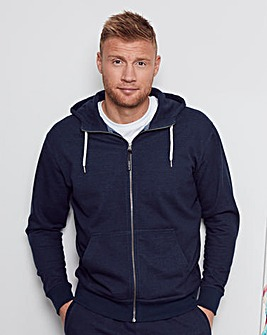 Flintoff by Jacamo Hooded Sweat Long