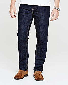 Flintoff By Jacamo Selvedge Jeans 33in
