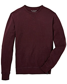 Flintoff by Jacamo Crew Neck Sweatshirt