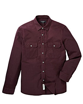 Flintoff by Jacamo L/S Flannel Shirt Reg