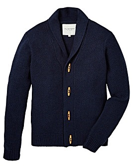 Flintoff by Jacamo Toggle Cardigan