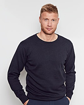 Flintoff by Jacamo Lightweight Jumper