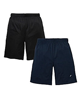 JCM Pack of Two Polyester Mesh Shorts