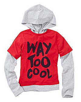 KD MINI Boys Hooded Top (2-7 yrs)