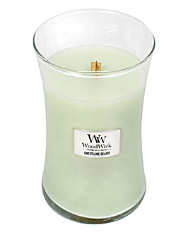 WoodWick Sweet Lime Gelato Large Jar