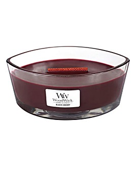 WoodWick Black Cherry Hearthwick Jar