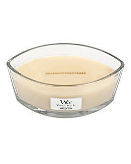 WoodWick Vanilla Bean Hearthwick Jar