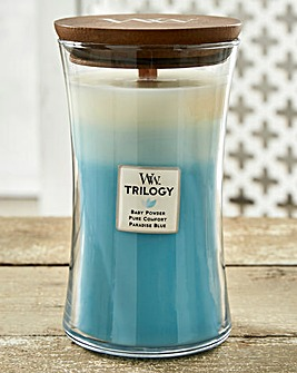 WoodWick Fresh & Clean Trilogy Large