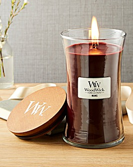 WoodWick Mums Large Jar Candle