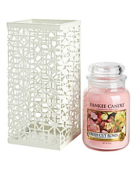 Yankee Candle Fresh Cut Roses Set