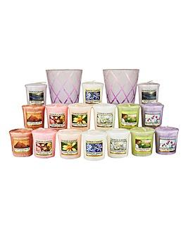 Yankee Candle Lotus Flower Set