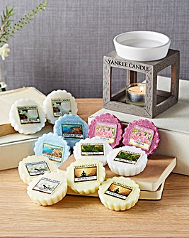 Yankee Candle Rustic Melt Warmer Set