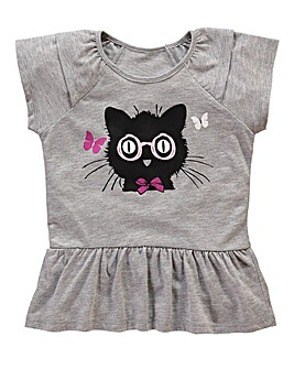 KD MINI Girls Cat Top