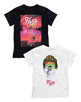Fly 53 Boys Pack Two T-Shirts (8-13 yrs)