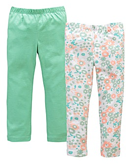 KD MINI Pack of Two Leggings (2-7 yrs)