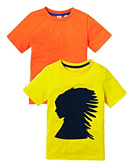 KD MINI Pack of Two T-Shirts (2-7 yrs)