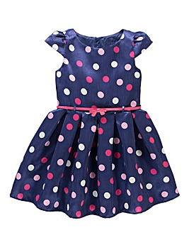 KD EDGE Spot Print Dress (8-13 yrs)