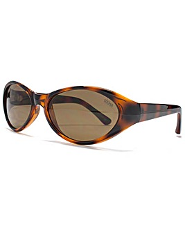 Suuna Emily Oval Wrap Sunglasses