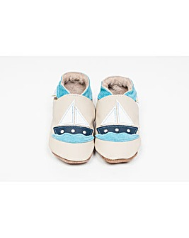 Hippychick Baby Shoes Beige Boats