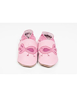 Hippychick Baby Shoes Pink Birds