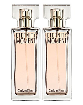 CK Eternity Moment 50ml EDP BOGOF