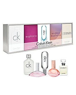 Calvin Klein 5-Piece Ladies Mini Set
