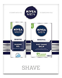 Nivea Gents Shave and Sensitive Duo Set