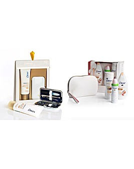Dove Dermaspa & Pampering Duo Set
