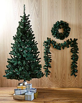 Douglas Fir with FREE Wreath & Garland
