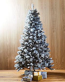 Grey Glitter Tipped Tree