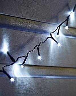 Bright White Battery Timer Lights