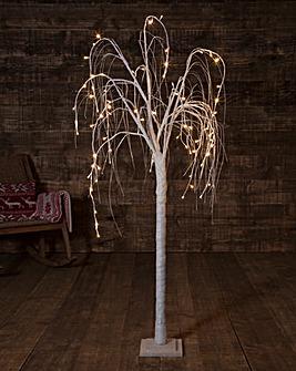 Warm White Willow Tree