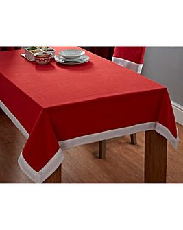 Santa Table Cloth