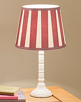 Vintage Style Pleated Lamp