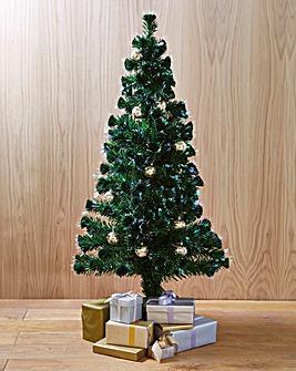 Fibre Optic Bauble Tree