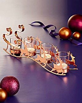 Santas Sleigh Tealight Holder