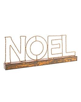 NOEL Copper Wire Light