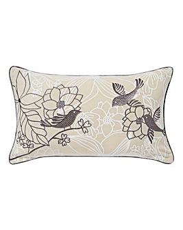 Songbird Silver Cushion