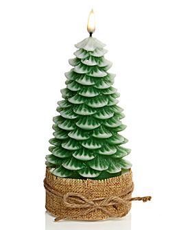 Christmas Tree LED Wax Candle