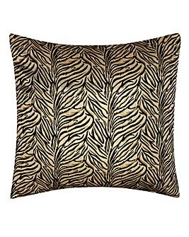 Palm Metallic Filled Cushion