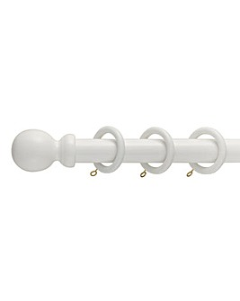 28mm Wooden Curtain Pole