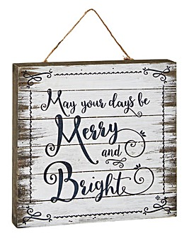 May Your Day Be Merry & Bright Wall Art