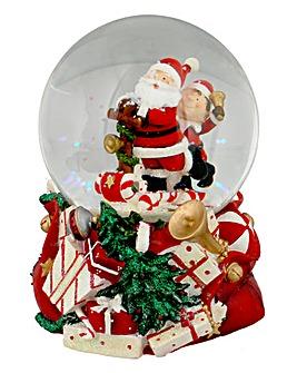 Santa Clause Snow Globe