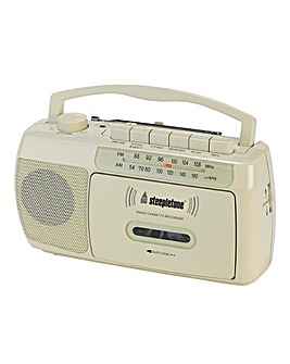 Steepletone Radio/Cassette Recorder